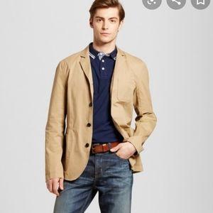 Merona Men's khaki blazer jacket sports coat L XXL